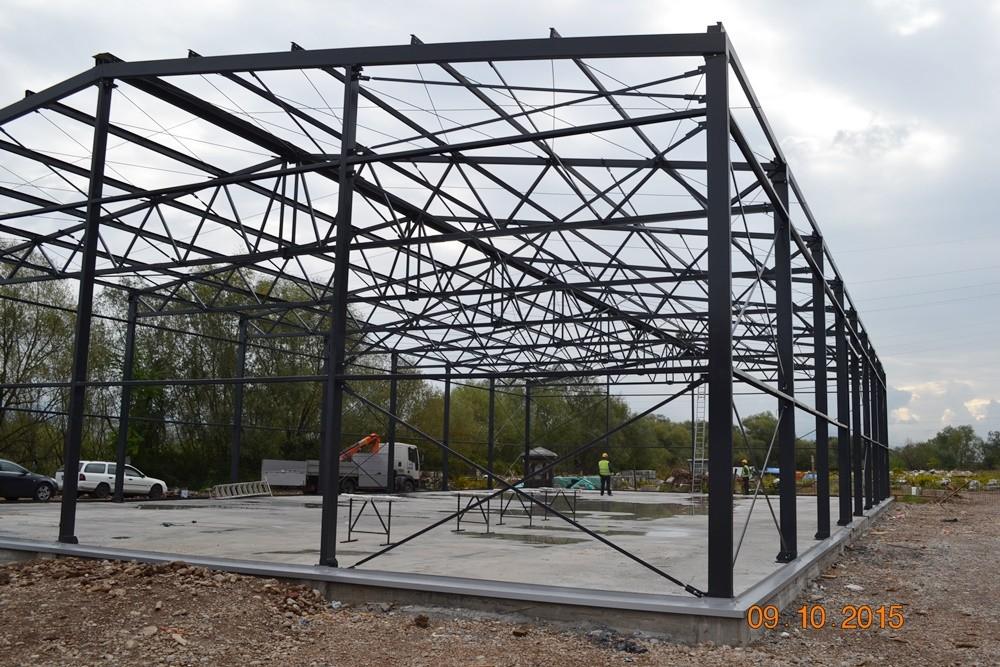 Završena montaža hale u Podgorici