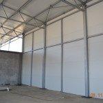 čelične konstrukcije za montažne hale, fabrika peleta Kladovo